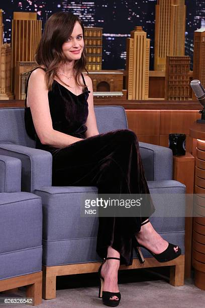 Actress Alexis Bledel during an interview on November 28 2016