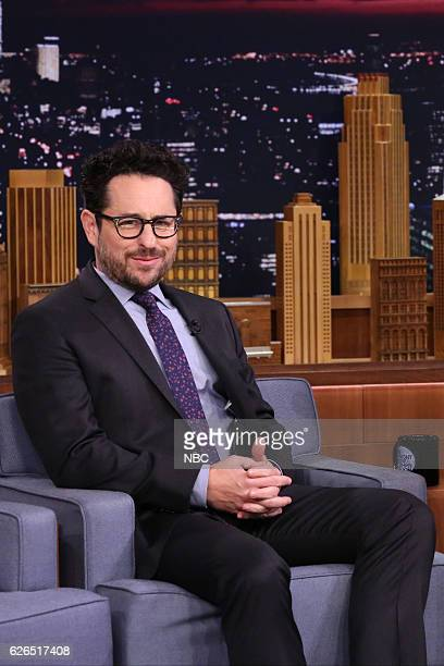 Director JJ Abrams during an interview on November 29 2016