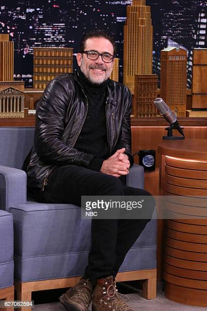 Actor Jeffrey Dean Morgan during an interview on December 01 2016
