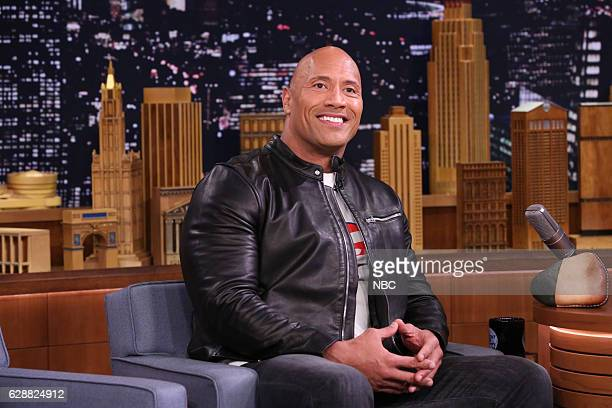 Actor Dwayne Johnson during an interview on December 09 2016