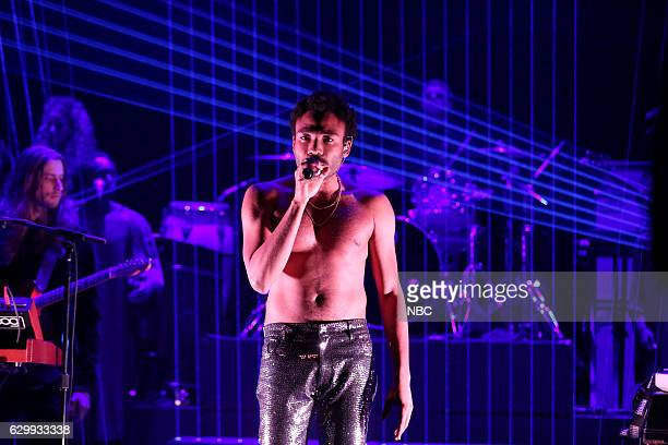 Musical guest Childish Gambino performs on December 14 2016