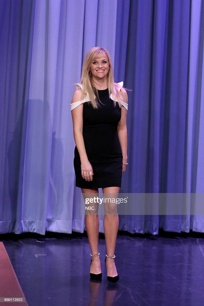 Actress Reese Witherspoon arrives on December 16, 2016 --
