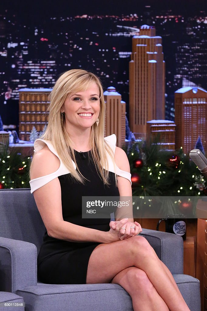 Actress Reese Witherspoon during an interview on December 16, 2016 --