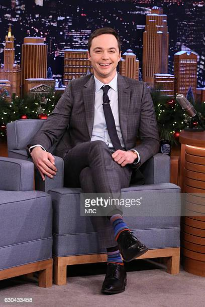 Actor Jim Parsons during an interview on December 22 2016