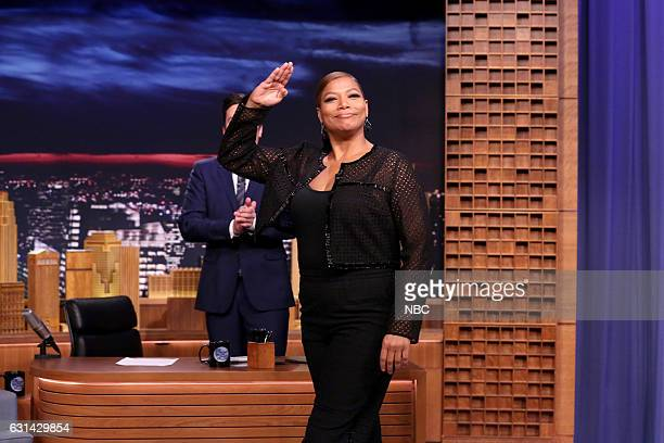 Actress Queen Latifah arrives on January 10 2017