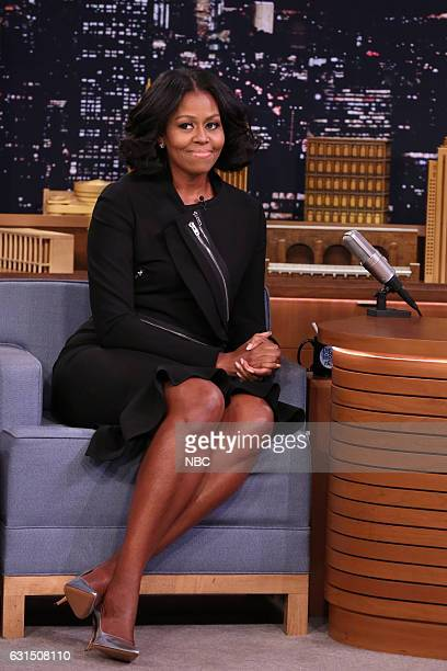 First Lady Michelle Obama during an interview on January 11 2017