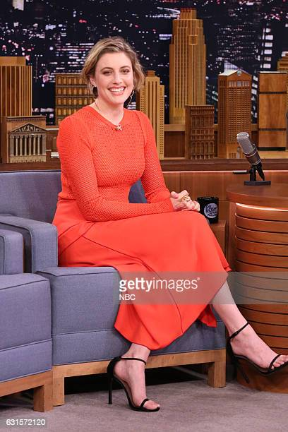 Actress Greta Gerwig during an interview on January 12 2017