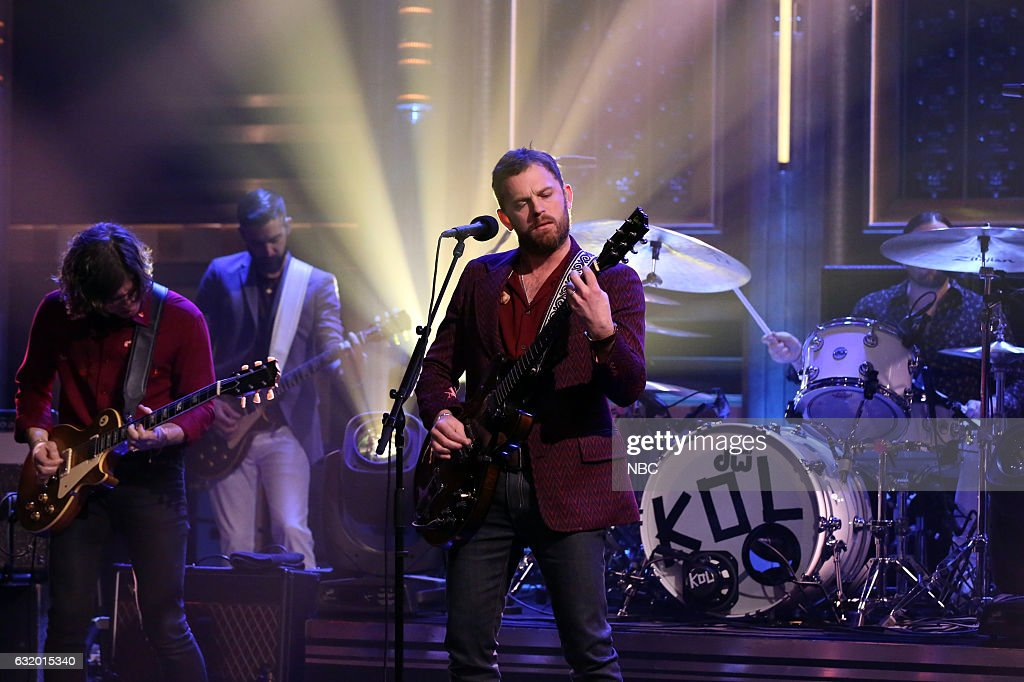 "NBC's ""The Tonight Show Starring Jimmy Fallon"" with guests James McAvoy, Nick Offerman, Kings of Leon, Sit-In: Nick Valensi"