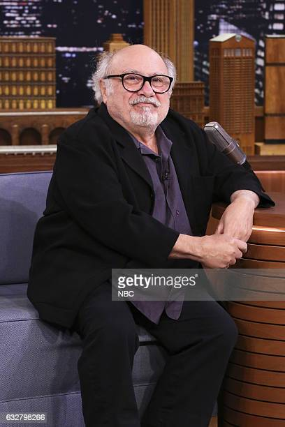 Actor Danny DeVito during an interview on January 26 2017