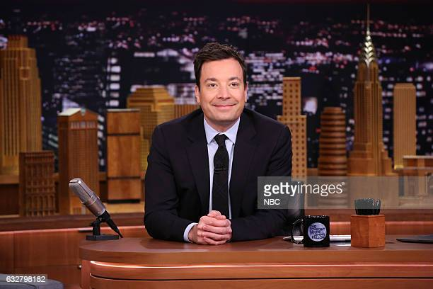Host Jimmy Fallon on January 26 2017