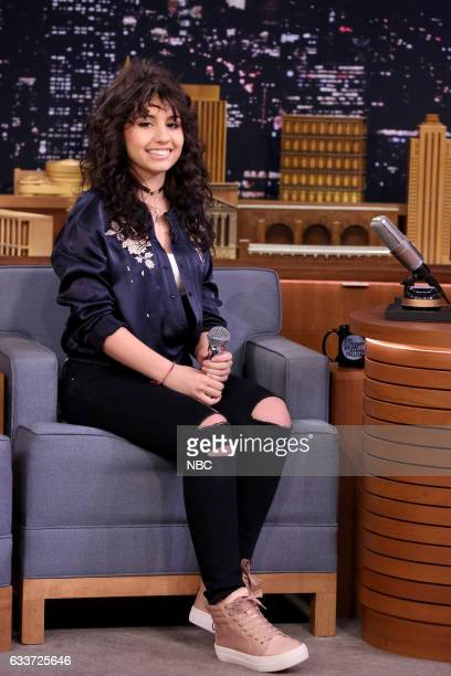 Singer Alessia Cara on February 3 2017