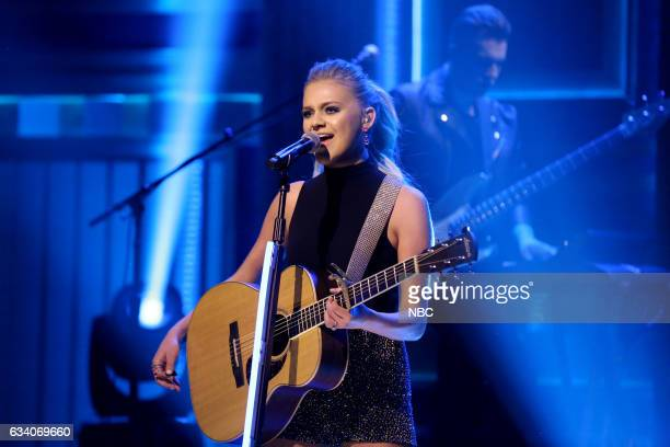Musical guest Kelsea Ballerini performs on February 6 2017