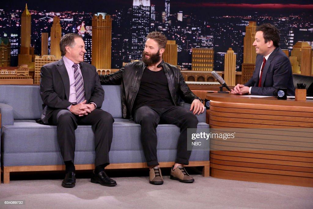 "NBC's ""The Tonight Show Starring Jimmy Fallon"" with guests Julian Edelman, Bill Belichick, Tom Selleck, Joe Jonas, Kelsea Ballerini"