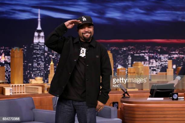 Rapper Ice Cube arrives on February 7 2017