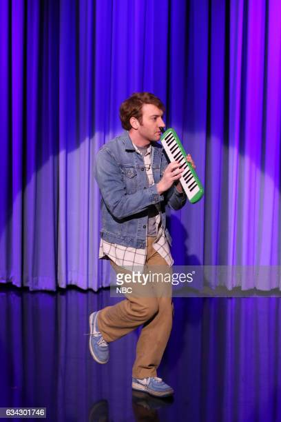 Jack Blankenship plays the melodica during 'Suggestion Box' on February 8 2017