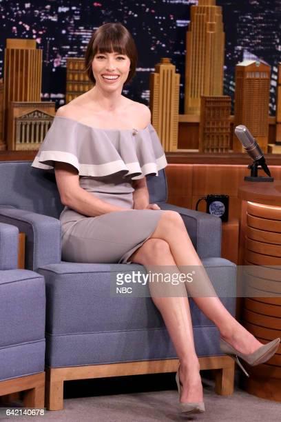 Actress Jessica Biel on February 16 2017