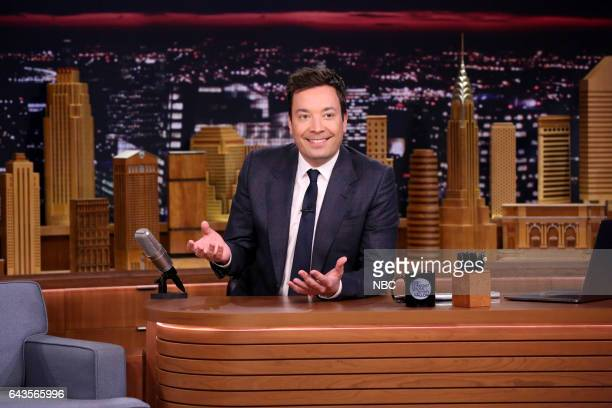Host Jimmy Fallon on February 21 2017