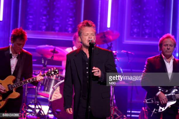 Musical guest John Mellencamp performs on February 28 2017