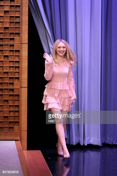 Actress Dakota Fanning arrives on March 3 2017