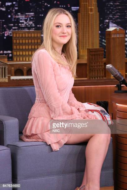 Actress Dakota Fanning on March 3 2017