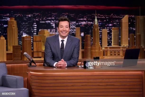 Host Jimmy Fallon on March 13 2017