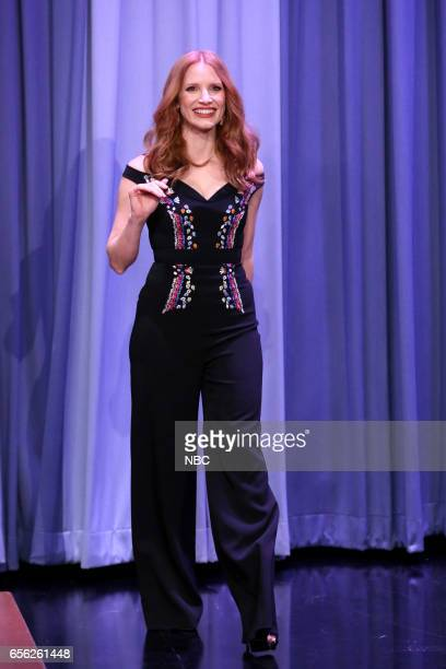 Actress Jessica Chastain arrives on March 21 2017