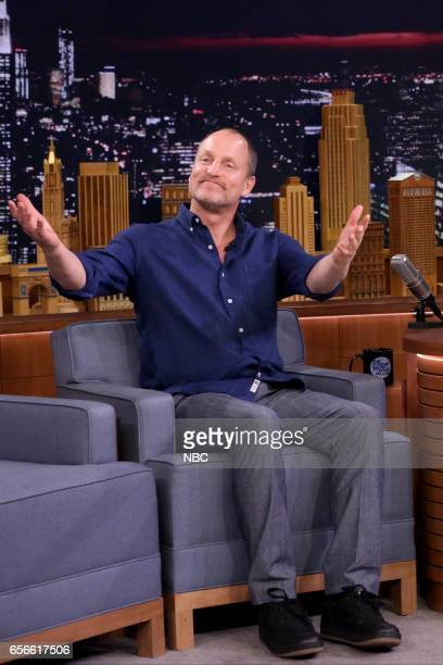 Actor Woody Harrelson on March 22 2017