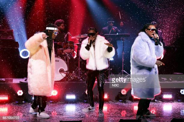 Musical guest Migos perform on March 23 2017