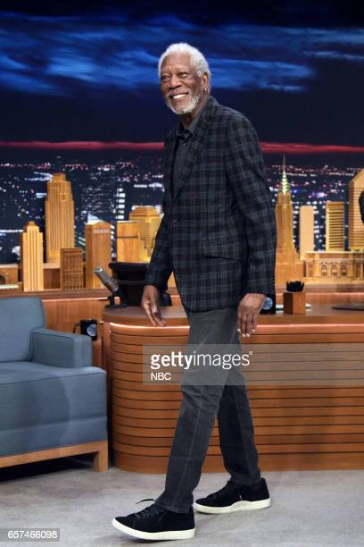 Actor Morgan Freeman arrives to the show on March 24 2017
