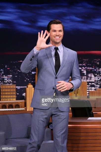 Actor Andrew Rannells arrives to the show on March 29 2017