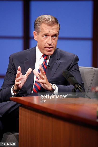 NBC News' Brian Williams during an interview on July 7 2014