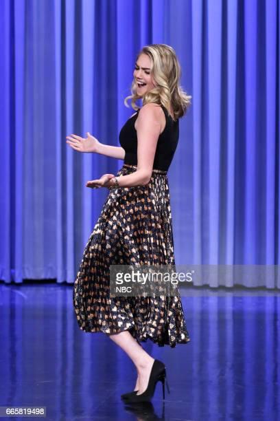Model Kate Upton during Dance Battleon April 6 2017