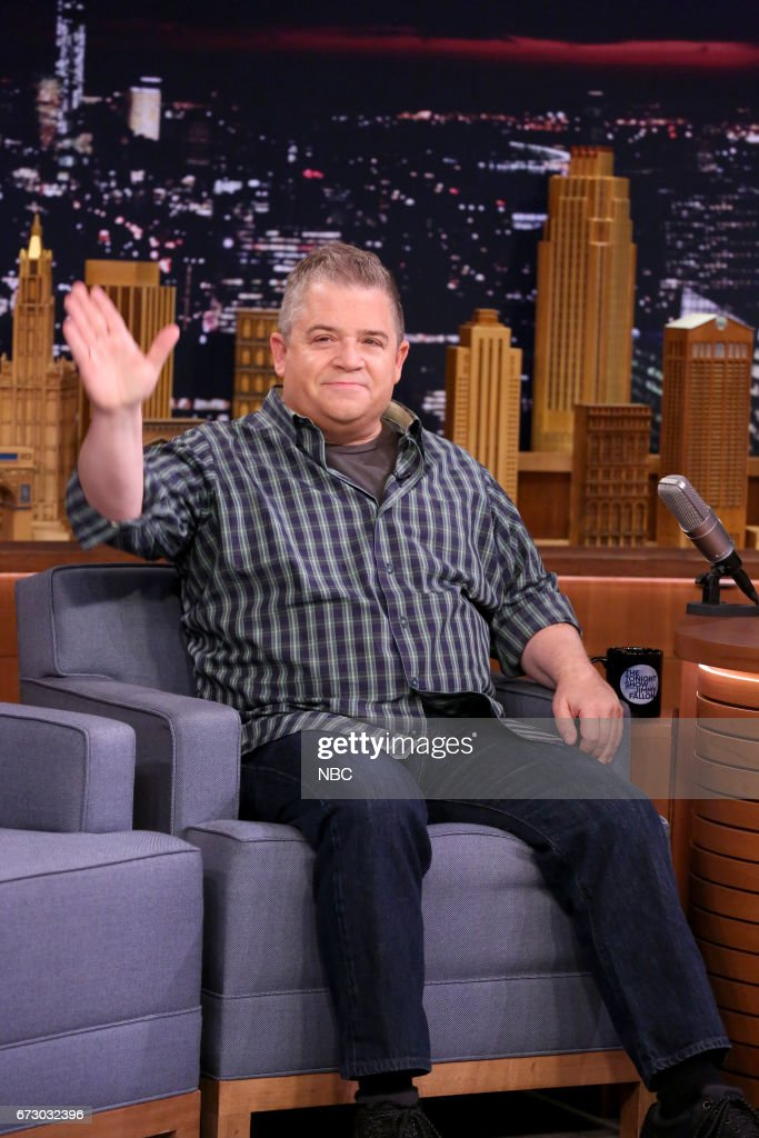 Voice Actor Patton Oswalt during an interview on April 25, 2017 --