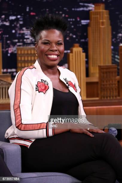 Comedian Leslie Jones during an interview on April 26 2017