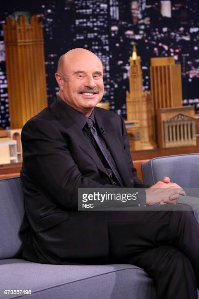 Talk Show Host Dr Phil during an interview on April 26 2017