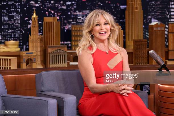 Actress Goldie Hawn during an interview on May 1 2017