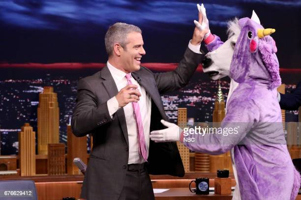 Talk Show Host Andy Cohen during an interview on May 2 2017