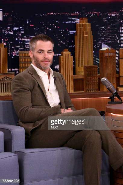 Actor Chris Pine on May 4 2017
