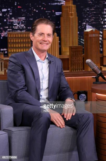 Actor Kyle MacLachlan during an interview on May 11 2017