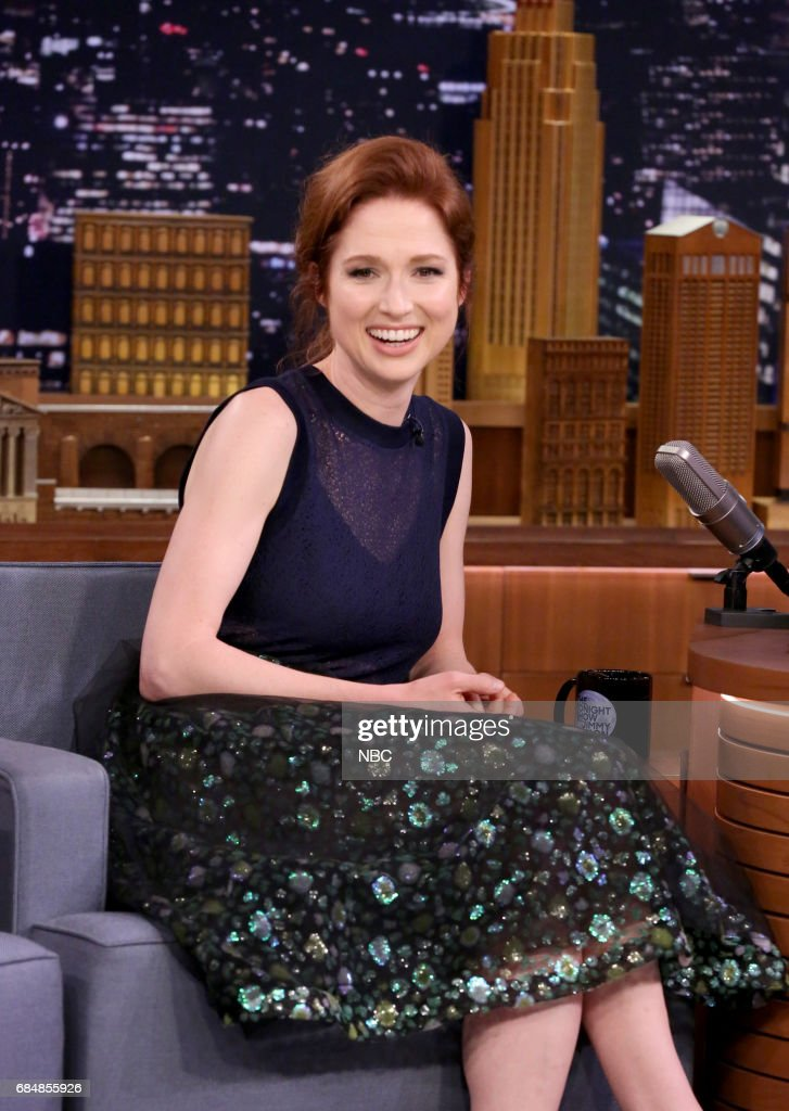 Actress Ellie Kemper during an interview on May 18, 2017 --