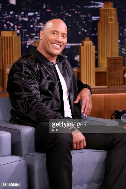 Dwayne Johnson during an interview on May 18 2017
