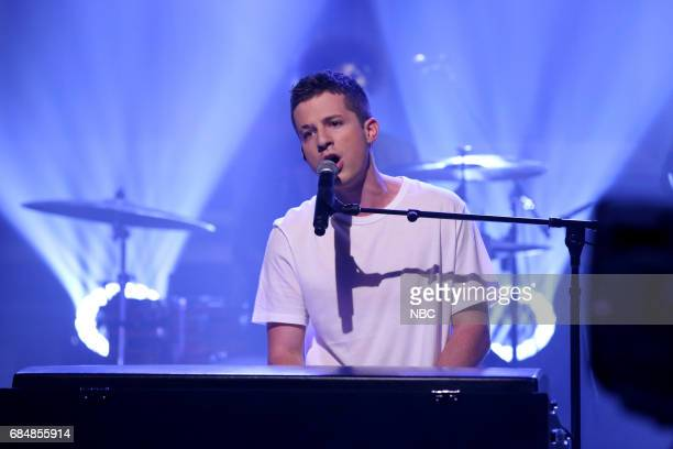 Musical Guest Charlie Puth performs 'Attention' on May 18 2017