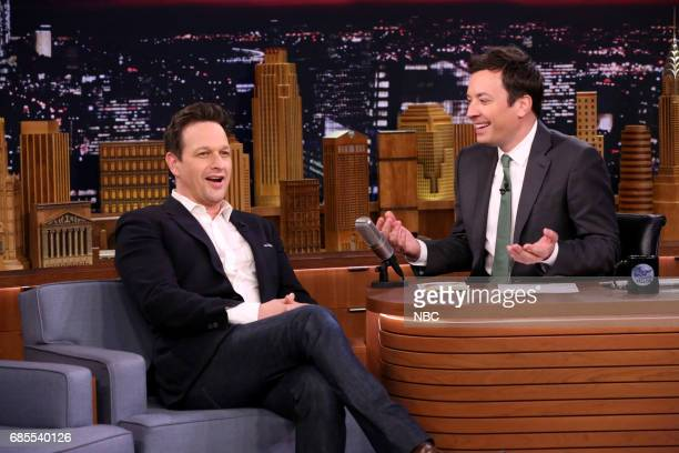 Actor Josh Charles during interview with host Jimmy Fallon on May 19 2017