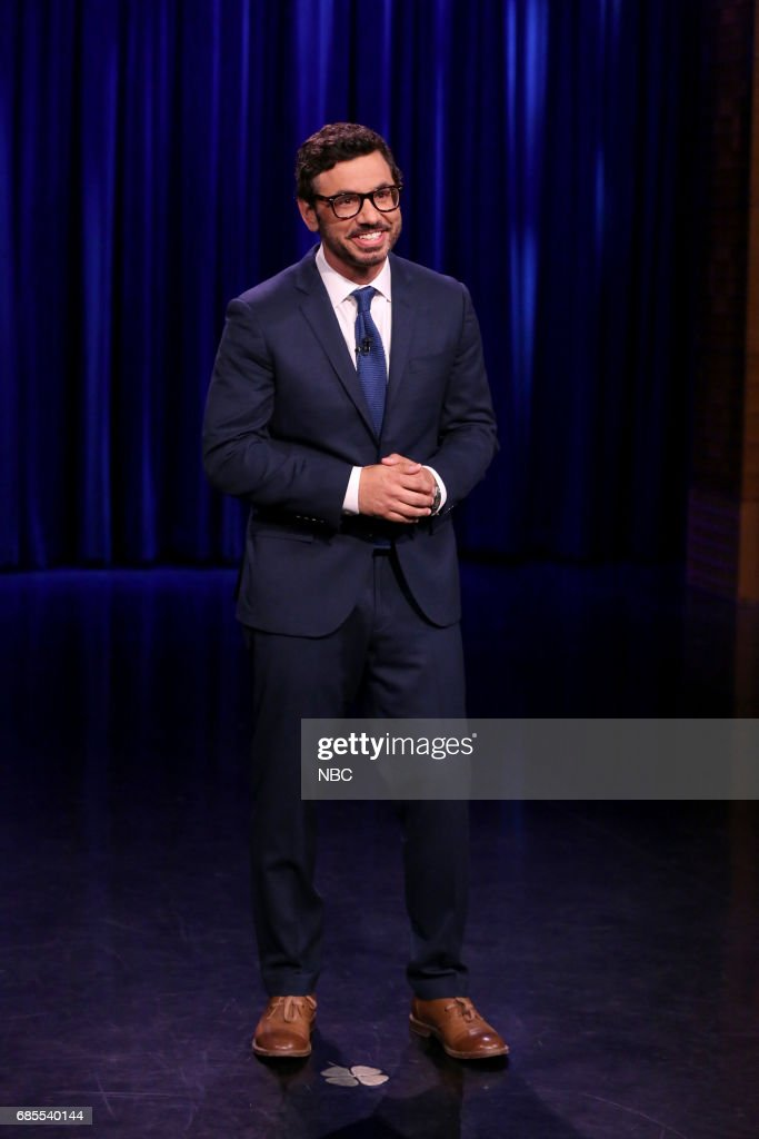 Comedian Al Madrigal performs on May 19, 2017 --