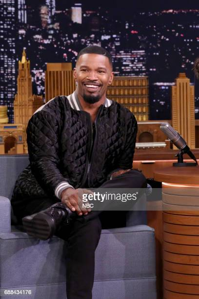 Actor Jamie Foxx during an interview on May 25 2017