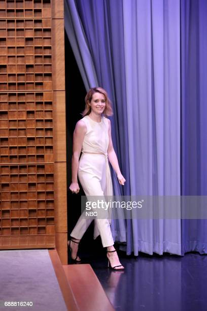 Actress Claire Foy arrives for an interview on May 26 2017
