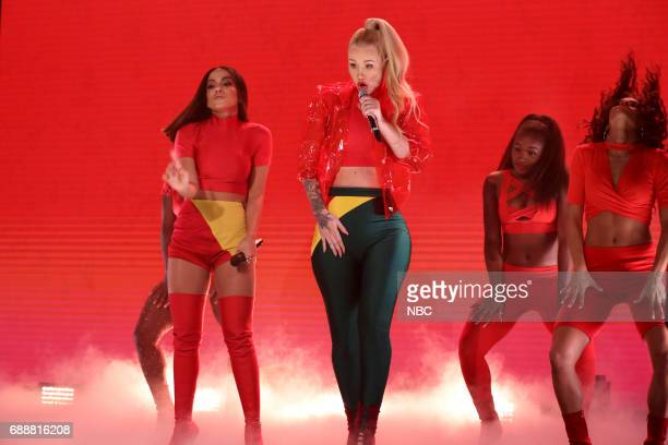 Anitta and Iggy Azalea perform 'Switch' on May 26 2017