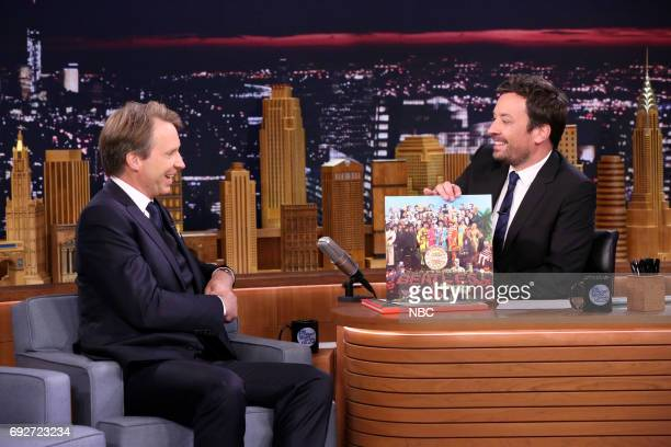 Music Producer Giles Martin during an interview with host Jimmy Fallon on June 5 2017