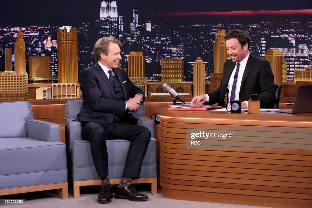 "NBC's ""Tonight Show Starring Jimmy Fallon"" With Guests John Lithgow, Riley Keough, Giles Martin, Thundercat ft. Michael McDonald & Kenny Loggins"