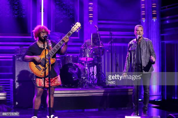 Stephen Bruner from Thundercat and Kenny Loggins perform 'Show You The Way' on June 5 2017